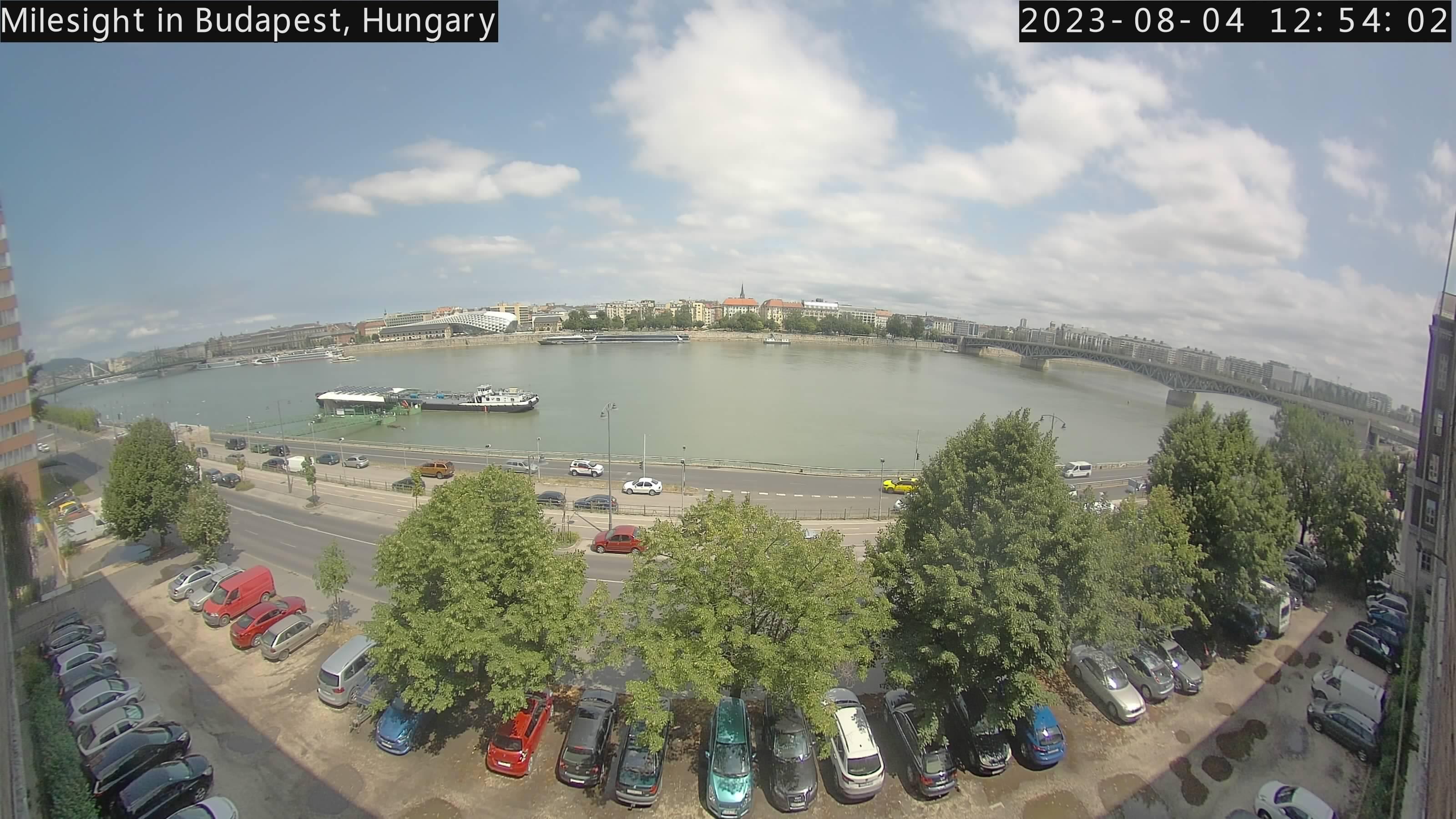 webcam live view Budapest