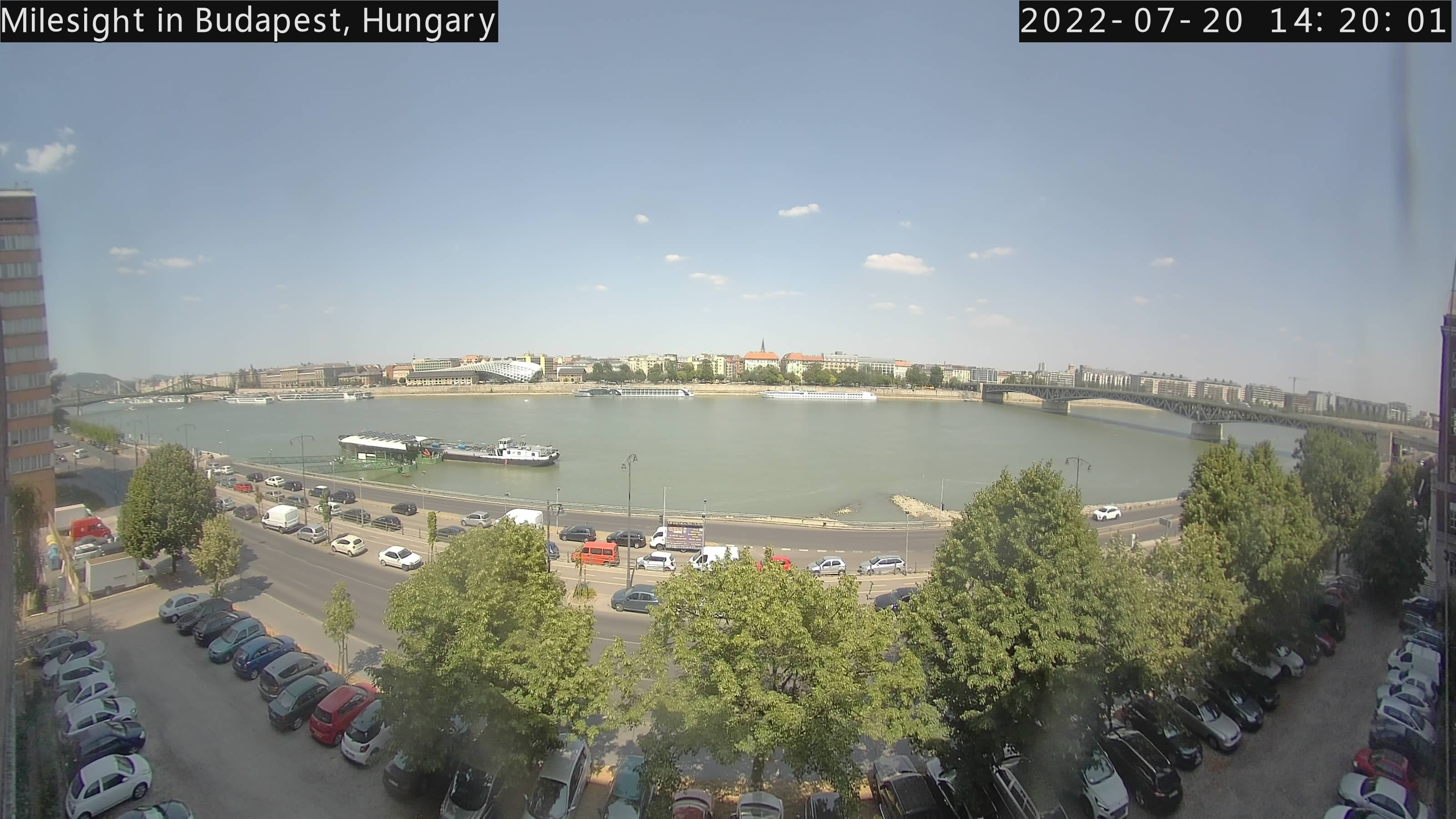 Budapest webcam - University of Technology and Economics Budapest webcam, Central Hungary, Budapesti